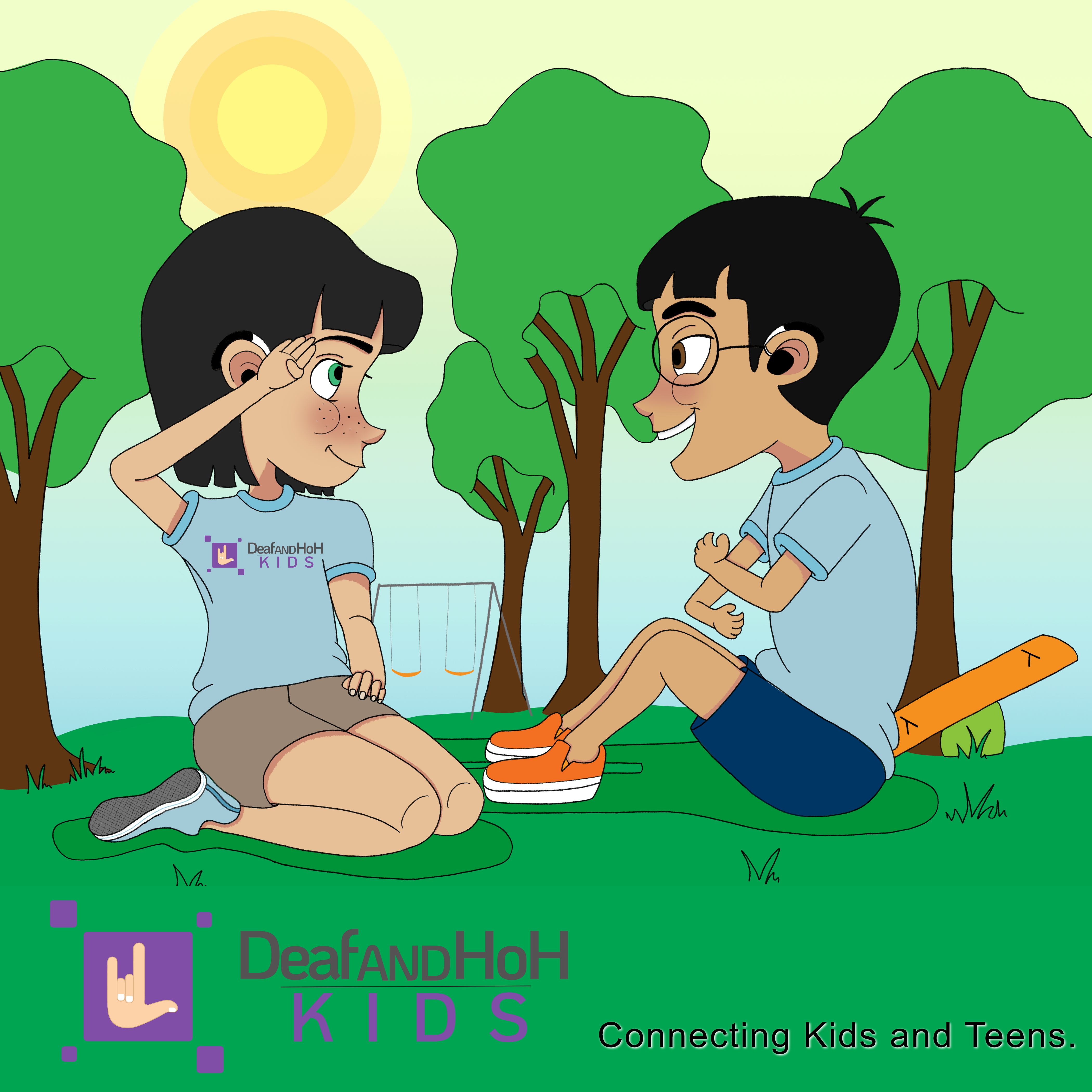 DeafandHoH.com Kids - connecting kids and teens